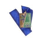 Медаль для спортивных соревнований лыжников «Зимний гром»